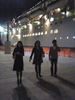 10月25日 にっぽん丸(鹿児島港〜)
